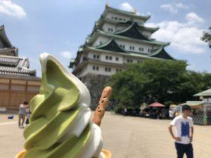 名古屋城ソフトクリーム